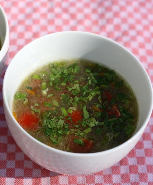 Arm aber Bio! Kartoffel-Kichererbsen-Suppe