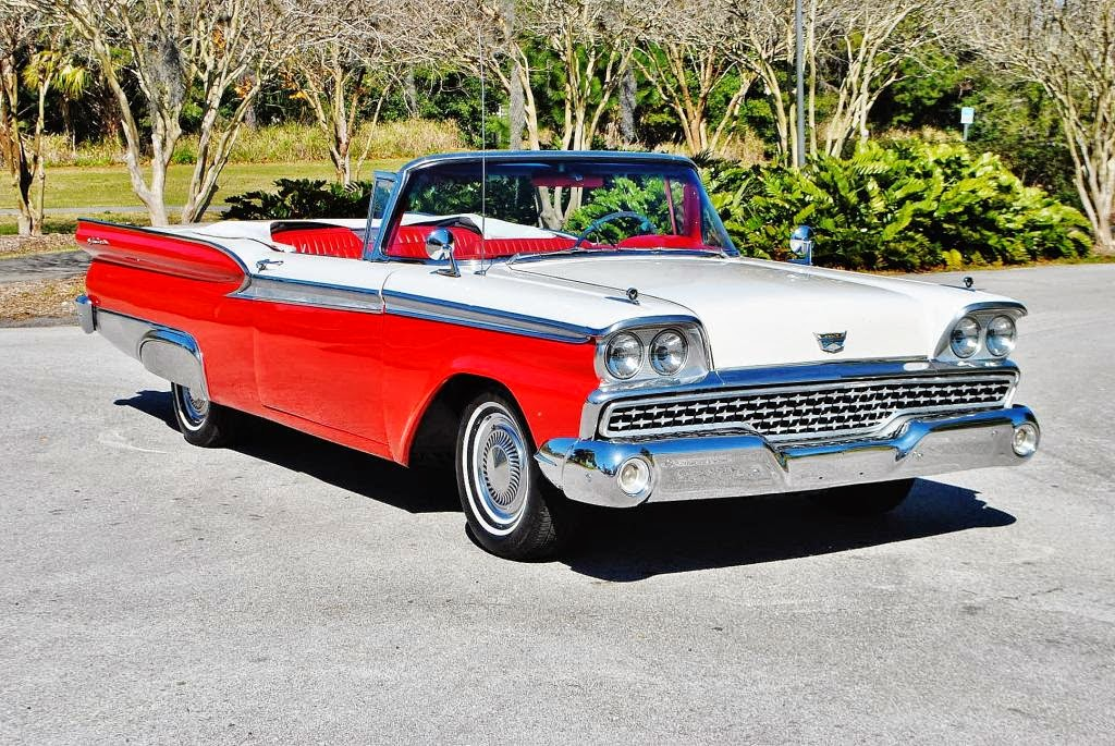 All American Classic Cars 1959 Ford Galaxie Sunliner 2