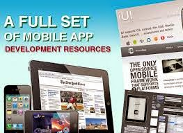 monile app development, resources for good mobile app design