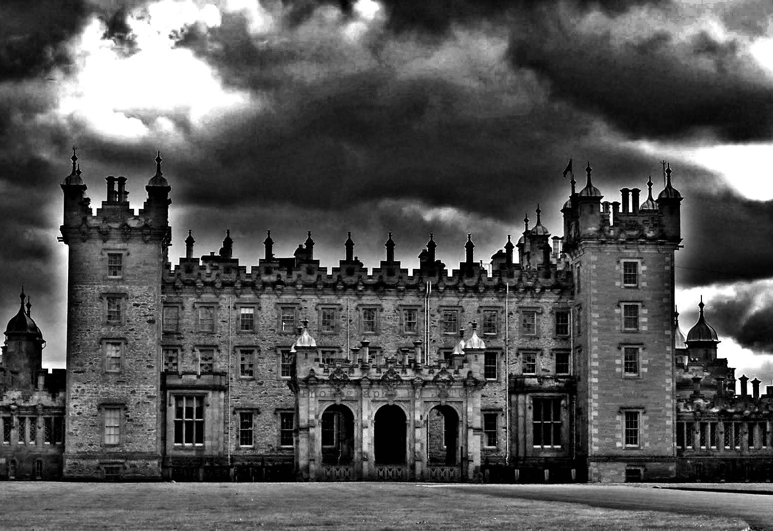 Paranormal Places UK Floors Castle Kelso Scotland
