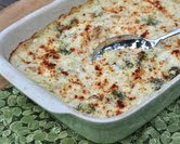 Smashed Potatoes & Broccoli Casserole