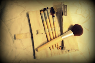 Kit pinceaux maquillage - Ecotools