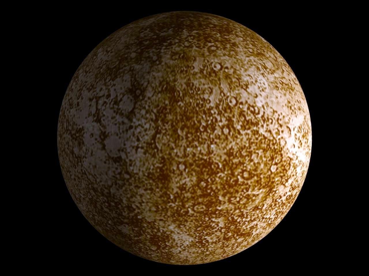 gambar planet merkurius