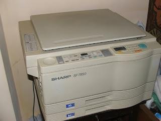 SHARP SF7850 fénymásológép