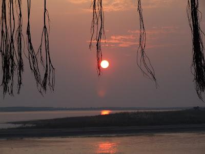 Sunset at Cox's Bazar, Bangladesh