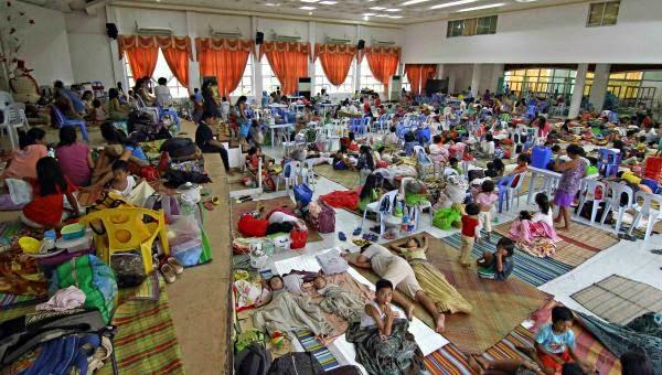 FILIPINAS: EVACUACION MASIVA POR TIFON HAGUPIT, 5 DE DICIEMBRE 2014