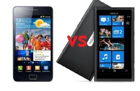 Nokia Lumia 900 vs  Samsung Galaxy S2, Images OfNokia Lumia 900 vs  Samsung Galaxy S2