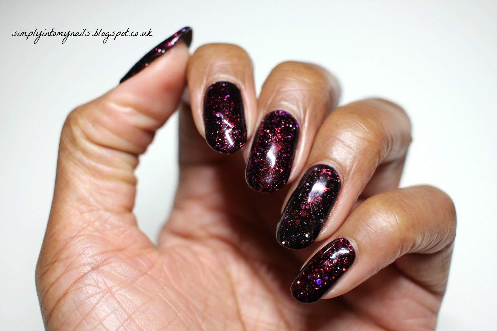 Gel II Poisoned Apple & Midnight Black | Simply Into My NAILS