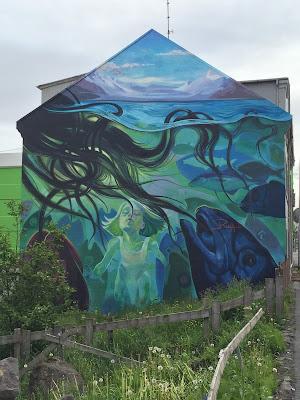 Reykjavik Mural by Raff