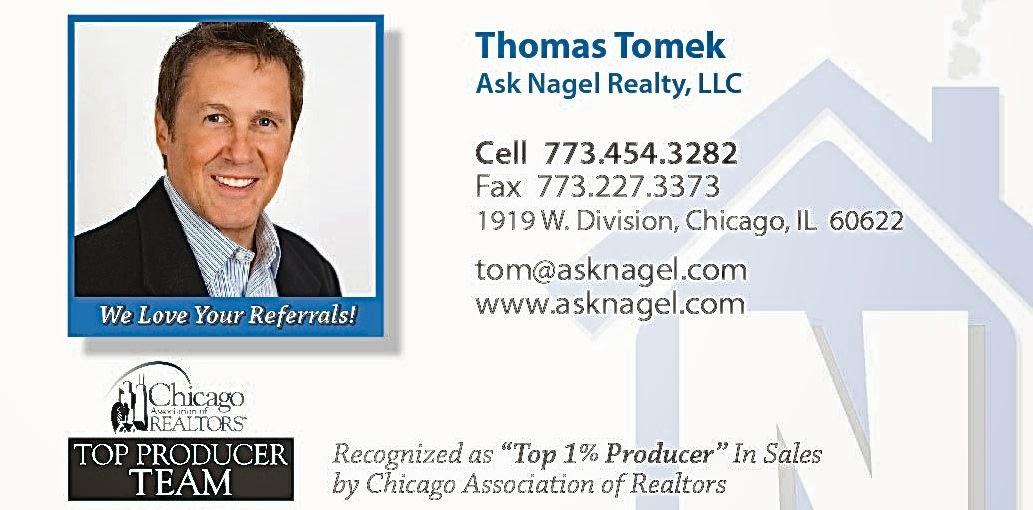 Tom Tomek business card