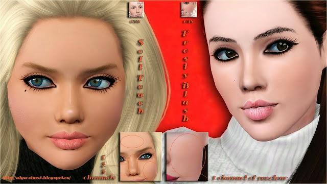 sims 3 новые прически макияж