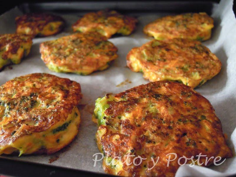 Formas De Cocinar El Brocoli | Plato Y Postre Tortitas De Brocoli Y Zanahoria Recetas De Cocina