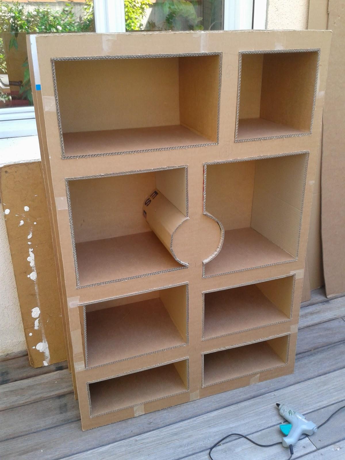 Atsugami no curly meuble de stage biblioth que for Sous couche meuble