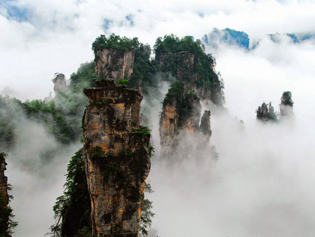 O Lume Minunata: Zhangjiajie, el mundo de Avatar en China