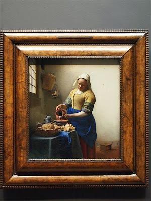 La lechera (1658–1660) de Johannes Vermeer