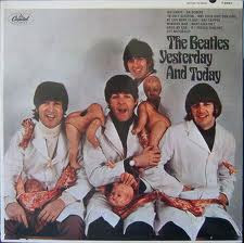ALBUM YESTERDAY AND TODAY DE LOS BEATLES=SATANICOS DE LOS 70 FILOSOFIA =SEXO DROGAS Y ROCK AND ROLL