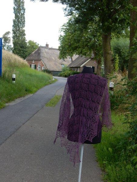 TE KOOP: LINNEN sjaal