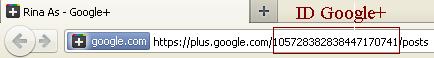 Cara Mendapatkan Alamat Username Google+