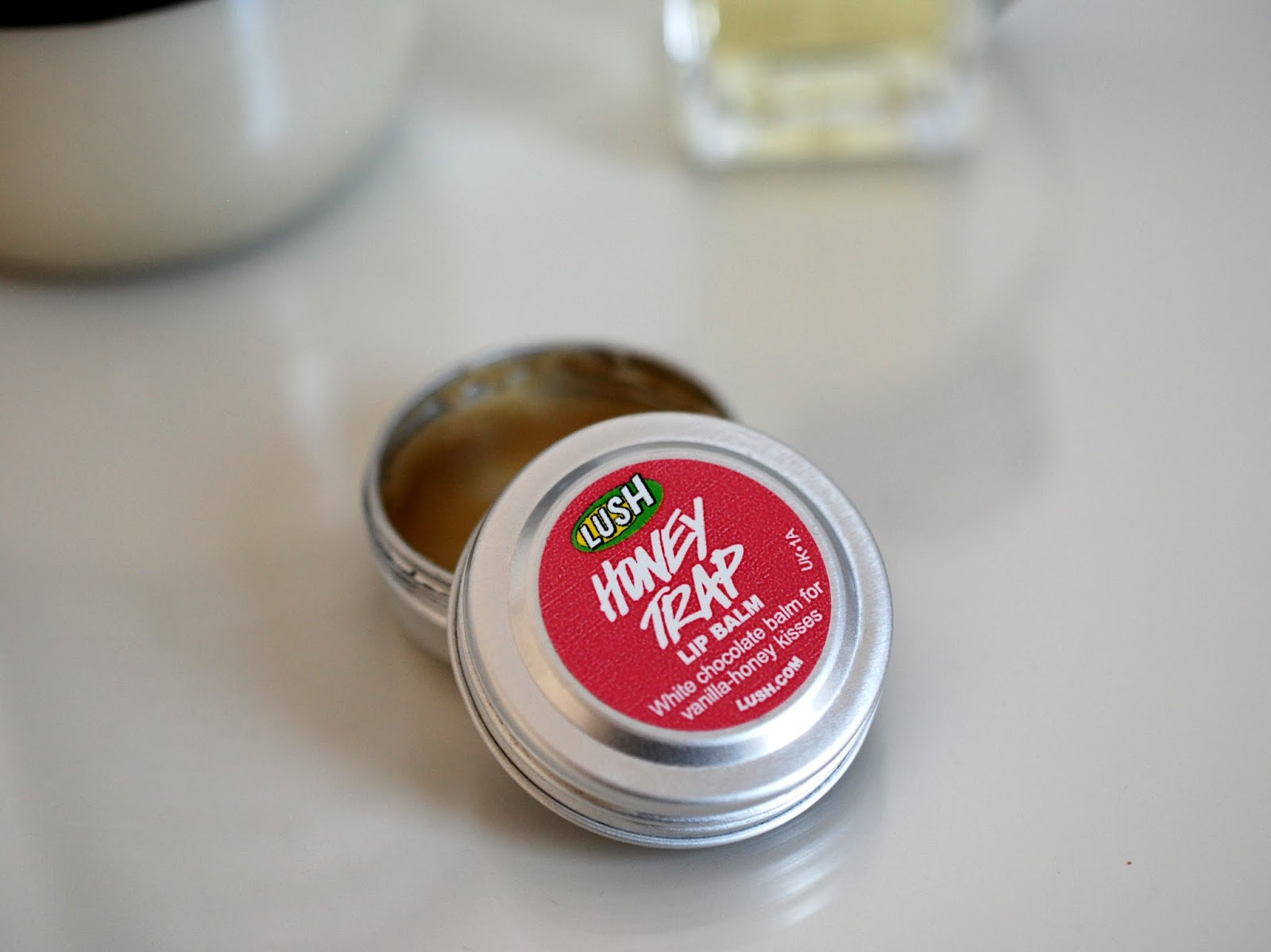 Top 3 Blogparade Lush Honey Trap Lip Balm by I need sunshine Beautyblog