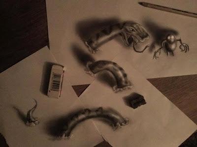 فنان خارج العادة يرسم لوحات ثلاثية الابعاد 3DPaint_Persian-Star