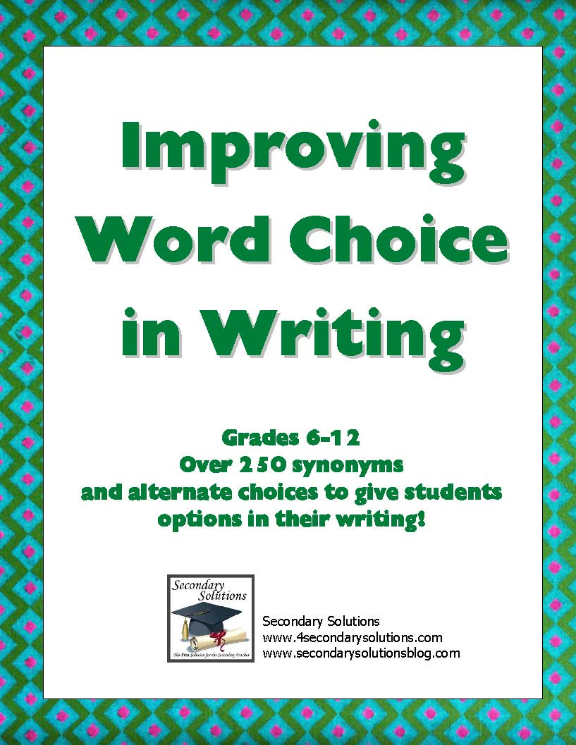 good word choice essays Essays and criticism on edgar allan poe's the raven - critical essays the raven essays edgar allan poe symbolism and word choice 4 in his essay the.