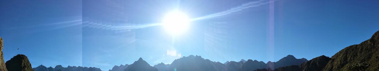 Amanecer, Montañas