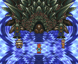 Chrono Trigger Lavos Battle