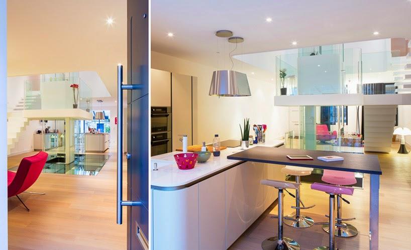 Ilia estudio interiorismo: diseño interior minimalista en torno a ...