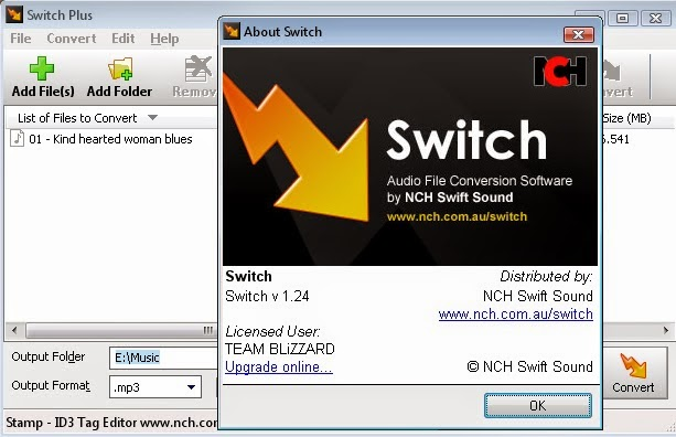 switch audio converter free download