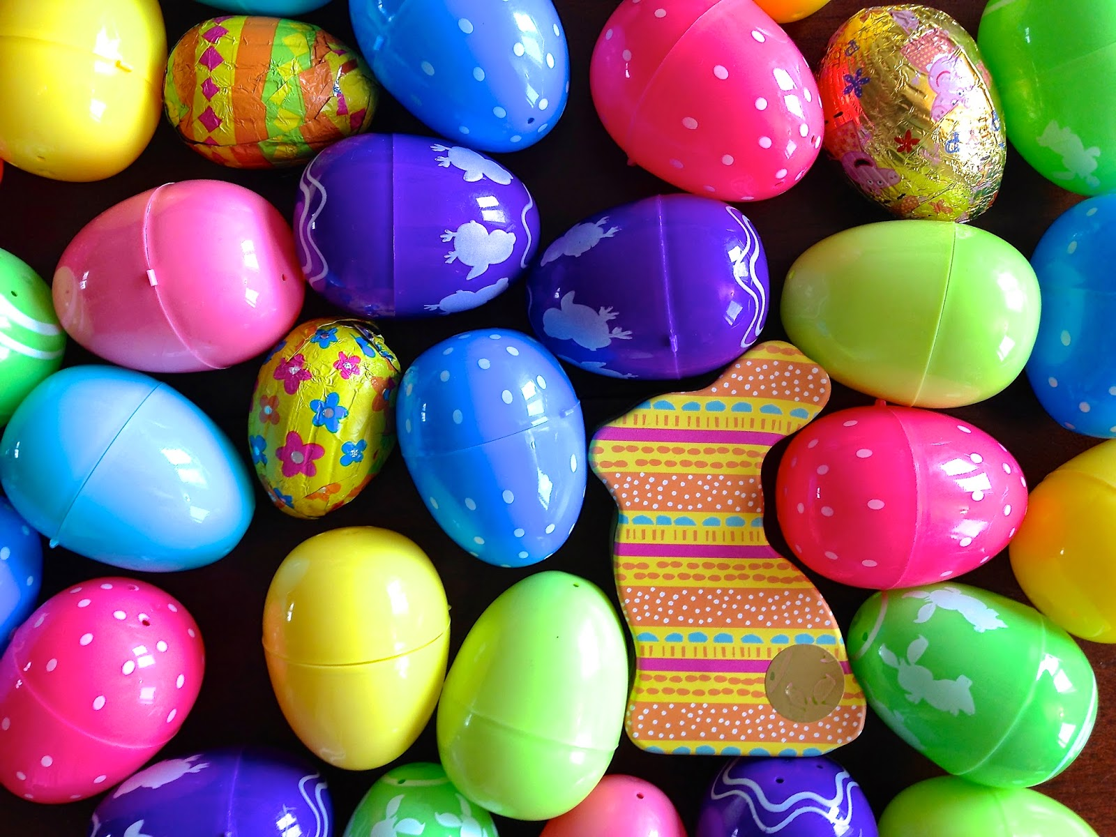 Easter eggs and chocolate