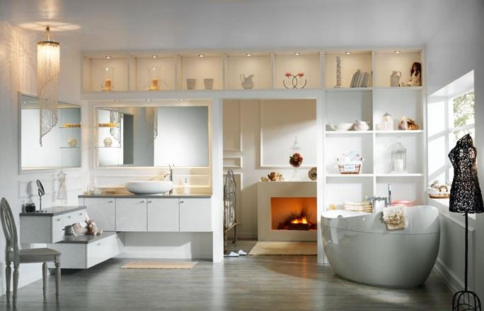 Blog jardin maison pourquoi pas une petite d coration in dans la salle de bain for Decoration maison salle de bain