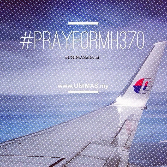 unimas pray from MH370