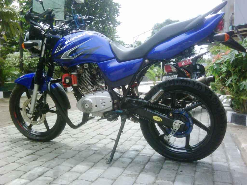 Artikel Terkait Modifikasi Suzuki Thunder 125 :