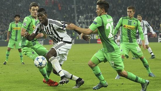 Juventus 0 x 0 Borussia Monchengladbach - Champions League 2015/16