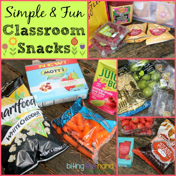 Classroom Snack Ideas : Biting the hand that feeds you simple and fun classroom