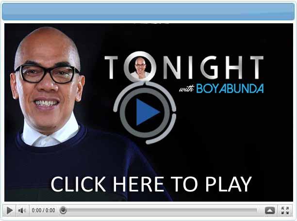 Tonight with Boy Abunda - Pinoy Show Biz  Your Online Pinoy Showbiz Portal
