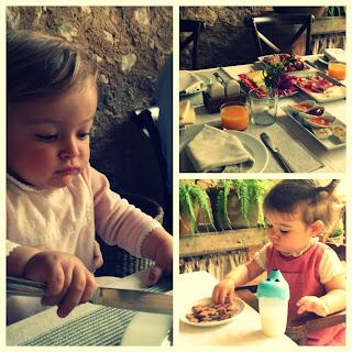 Los niños se creen mayores en los desayunos de Son Siurana