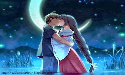 sms romantique pour dire bonne nuit - sms d'amour