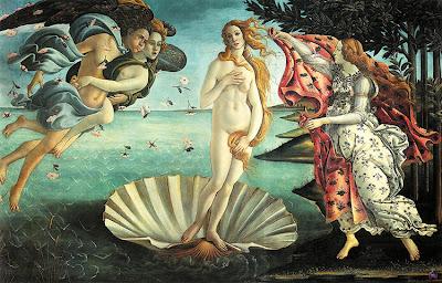 Botticelli - La naissance de Vénus