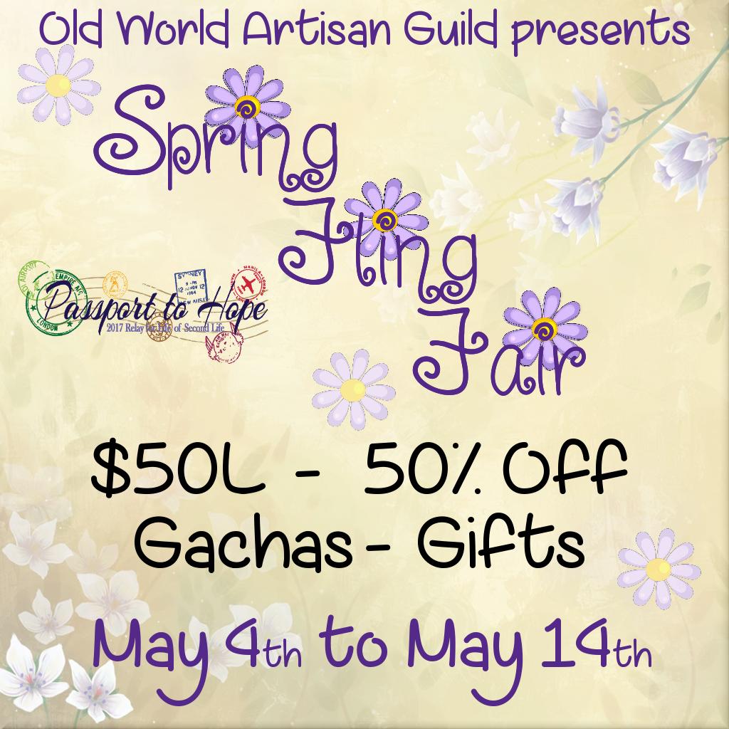 Spring Fling Fair