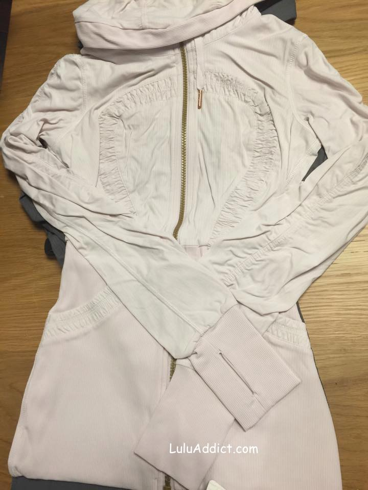 lululemon blush studio jacket