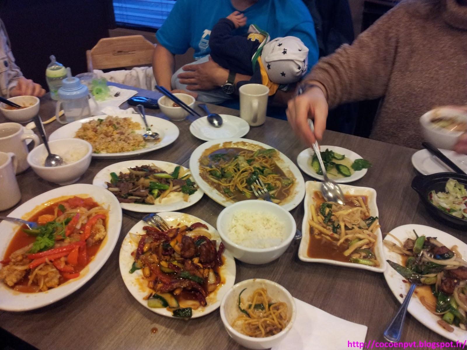 Coco en pvt repas chinois avec l 39 quipe de l 39 auberge for Un chinois cuisine