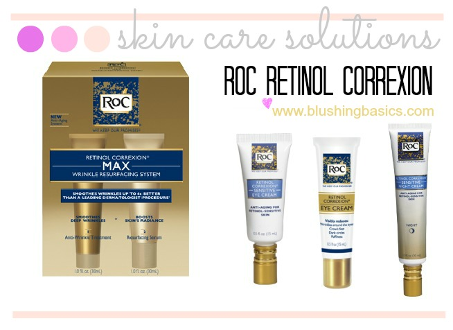 Blushing Basics Skin Care Solutions Roc Retinol Correxion