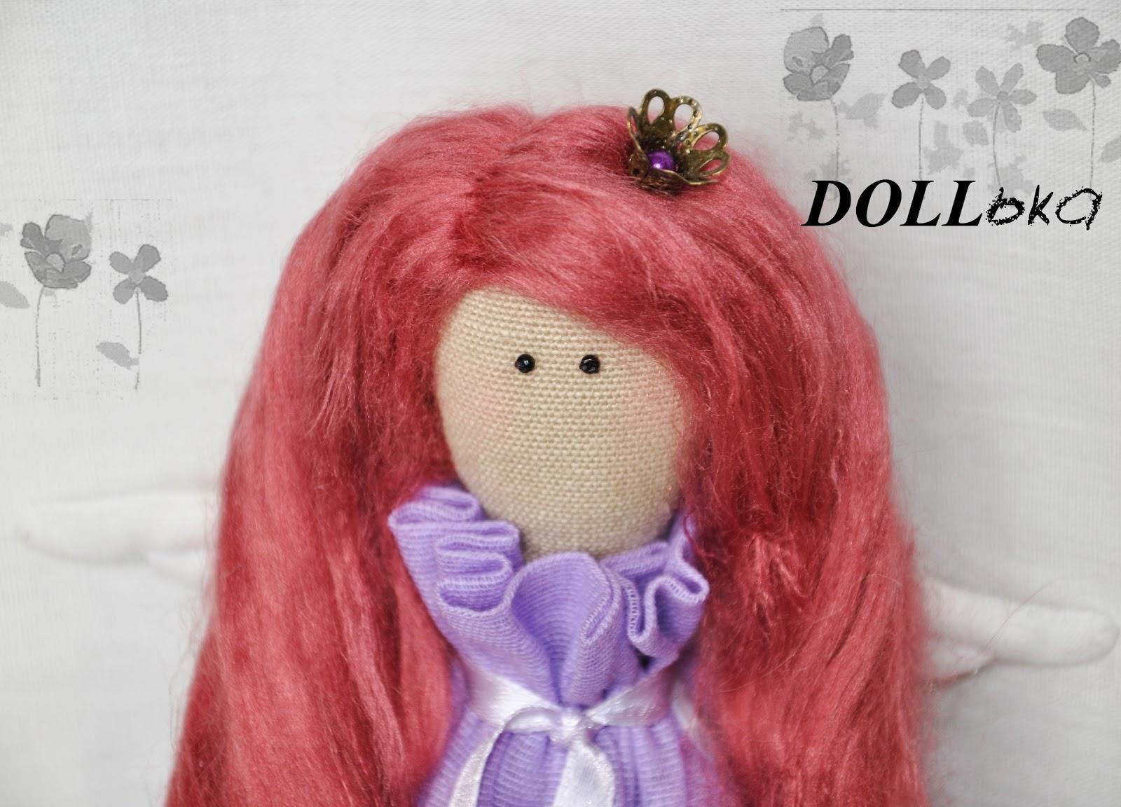 Тильда принцесса текстильная игрушка ручной работы