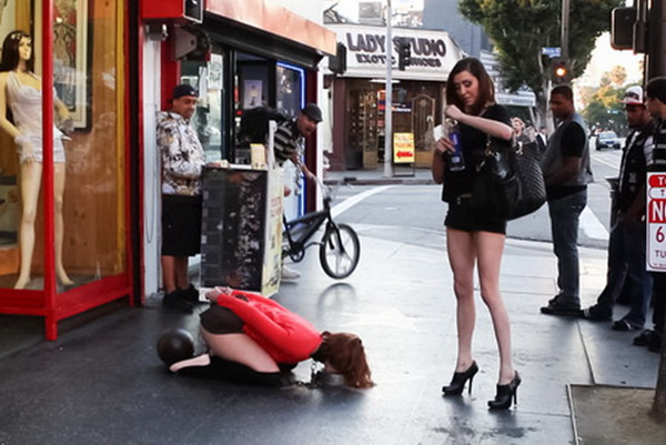 Hell Girl public anal domination Traum