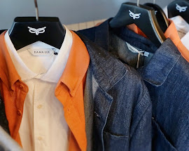 Dana Lee New York men's polo and denim shirts.
