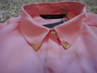 Pink Shirt, Pink Zara Shirt, Festival Shirt