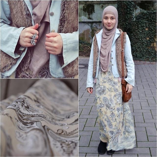 إطلالات محجبات ، ملابس محجبات 2013