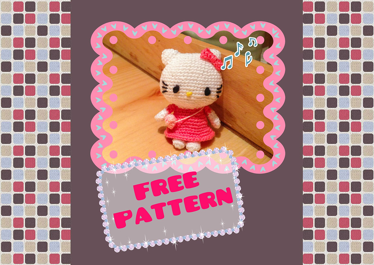 Hello Kitty Crochet Pattern (Free) ~ Snacksies Handicraft ...