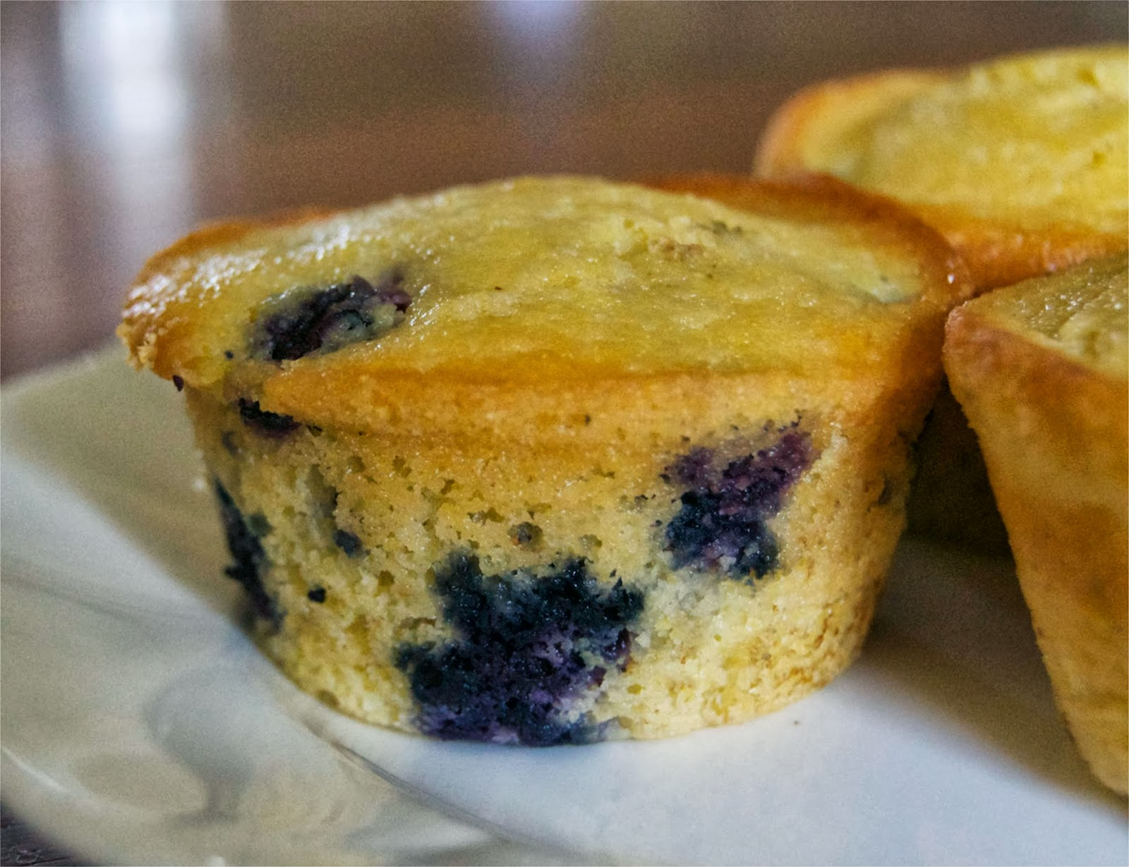 Blueberry Cornmeal Muffins - 365 Days of Baking